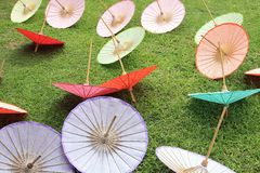 Bo Sang Umbrella Village Royalty Free Stock Photos
