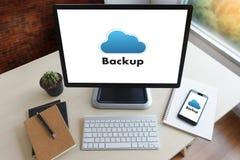 BO STRÖMMA den reserv- nedladdningen som beräknar transferri för Digitala data royaltyfria foton