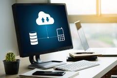 BO STRÖMMA den reserv- nedladdningen som beräknar transferri för Digitala data arkivfoto