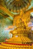 Bo Ta Tuang Paya tempel, Myanmar Arkivfoto