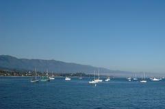 Boa del wih del paisaje marino de Santa Barbara Foto de archivo libre de regalías