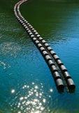 Boa di galleggiamento Fotografia Stock