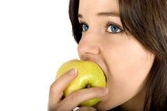 Boa maçã foto de stock