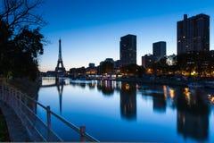 Boa manhã Eiffel, Paris, France Imagem de Stock