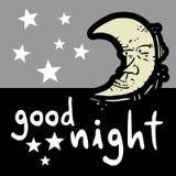 Boa noite Imagens de Stock