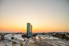 Boa noite, Arnhem! Foto de Stock Royalty Free