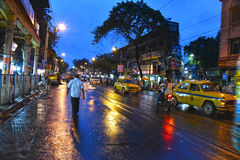 Boa noite Kolkata Foto de Stock Royalty Free