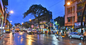 Boa noite Kolkata Imagem de Stock Royalty Free