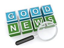 Boa notícia Imagem de Stock Royalty Free