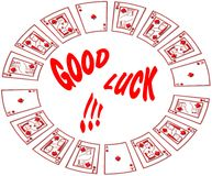 Boa sorte! Foto de Stock Royalty Free