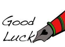 Boa sorte! Fotografia de Stock Royalty Free