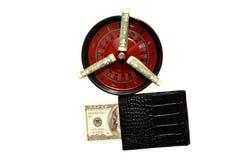 Boa sorte no casino Imagem de Stock