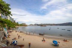Boa Viagem Beach - Niteroi, Rio de Janeiro, Brazil stock image