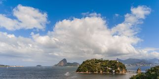 Sea of Boa Viagem beach. royalty free stock photos