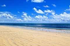 Boa Viagem beach in Recife, Brazil Stock Photos