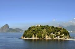 Boa Viagem Insel in Niterà ³ I stockfoto