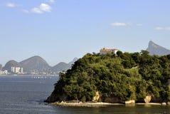 Boa Viagem Insel in Niterói stockfotografie
