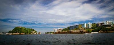Boa Viagem island in Niteroi Stock Images