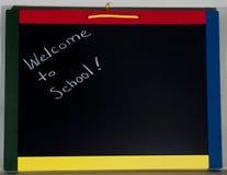 Boa vinda à escola Fotografia de Stock Royalty Free