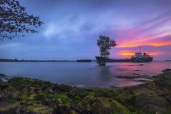 Boa vinda à ilha Wonderfull Indonésia Ásia 3 de Batam imagem de stock royalty free