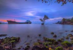 Boa vinda à ilha Wonderfull Indonésia Ásia 5 de Batam fotos de stock royalty free