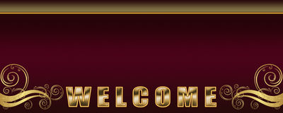 Boa vinda Imagens de Stock