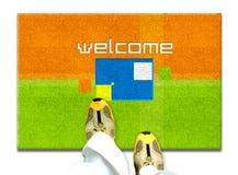 Boa vinda Fotografia de Stock
