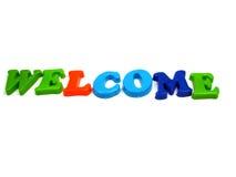 Boa vinda! Imagem de Stock Royalty Free
