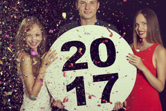 Boa vinda 2017 Imagem de Stock Royalty Free