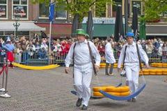 Boa vinda a Alkmaar! Fotografia de Stock Royalty Free