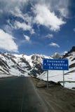 Boa vinda ao Chile! Imagens de Stock Royalty Free