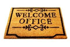 Boa vinda ao escritório foto de stock royalty free