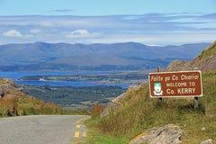 Boa vinda ao Kerry do condado - Irlanda Fotos de Stock Royalty Free