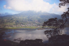 Boa vinda a Buyan, Bali, Indonésia Imagens de Stock Royalty Free