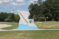 Boa vinda de Louisiana foto de stock