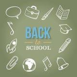 Boa vinda de volta à escola Fotografia de Stock Royalty Free