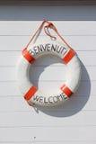 Boa vinda em Italy Foto de Stock