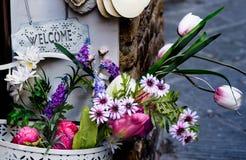 Boa vinda em Toscânia Fotos de Stock
