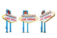 Boa vinda a Las Vegas Fotos de Stock