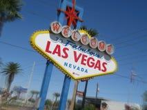Boa vinda a Las Vegas Fotografia de Stock Royalty Free