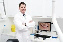 Boa vinda a meu escritório dental moderno imagens de stock royalty free
