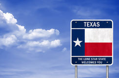 Boa vinda a Texas imagem de stock royalty free