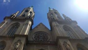Boa vista da catedral de la Sé Imagem de Stock