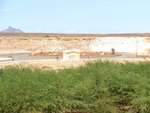 Boa Vista, view from the room Stock Image