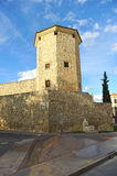 Boabdil塔在卢塞纳,科多巴省,安大路西亚,西班牙 免版税库存照片