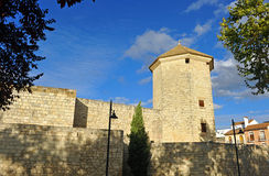 Boabdil Tower in the Castle of Moral, Lucena, Cordoba province, Andalusia, Spain Royalty Free Stock Photo