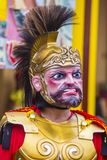 2018 Moriones Festival. BOAC , PHILIPPINES - MARCH 30 : Participant in the Moriones festival in Boac Marinduque island the Philippines. The Moriones festival Royalty Free Stock Photography