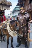 2018 Moriones Festival. BOAC , PHILIPPINES - MARCH 30 : Participant in the Moriones festival in Boac Marinduque island the Philippines. The Moriones festival Stock Photography