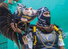 2018 Moriones Festival. BOAC , PHILIPPINES - MARCH 30 : Participant in the Moriones festival in Boac Marinduque island the Philippines. The Moriones festival Royalty Free Stock Images