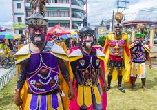 2018 Moriones Festival Stock Photography